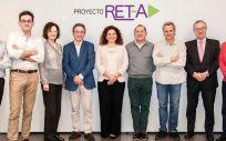 Los 10 expertos se han reunido en la segunda jornada técnica del proyecto RET-A (Foto. Gilead)