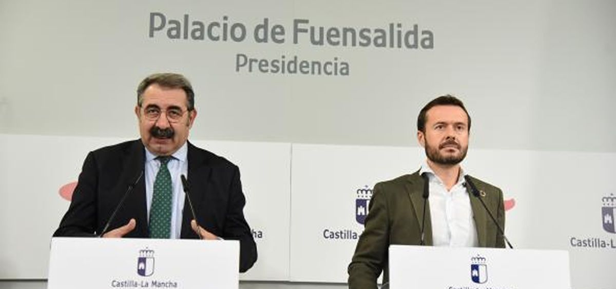 Rueda de prensa del Consejo de Gobierno (Foto. Consejería de Sanidad de Castilla-La Mancha)