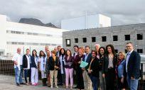 Sanidad y Cabildo de Tenerife trabajarán conjuntamente para las actuaciones de ampliación del Hospital del Sur (Foto. Gobierno de Canarias)