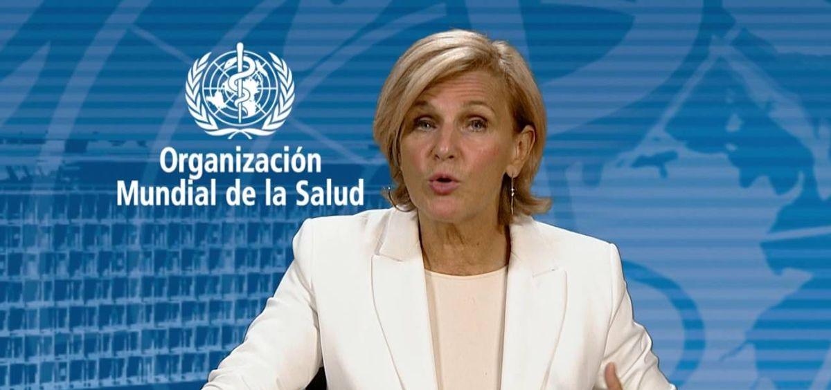 María Neira, directora del departamento de Salud Pública y del Ambiente de la OMS