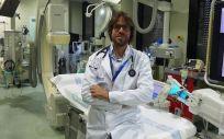 el doctor Jordi Bañeras, miembro de la FEC, la SEC y cardiólogo de la Unidad de Críticos Cardiovasculares del Hospital Vall d´Hebrón (Foto. Vall d´Hebrón)