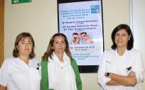 Profesionales sanitarias que trabajan en la consulta antitabaco de la GAI de Cuenca (Foto. Sescam)