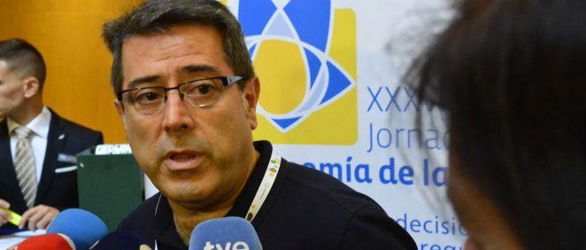Fernando Sánchez, miembro de la Junta directiva de la Asociación de Economía de la Salud. (Foto. AES)