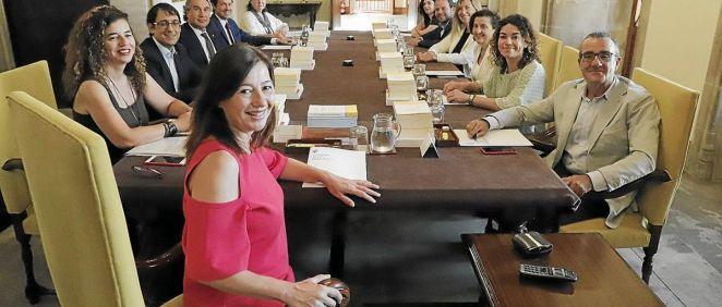 Consell de Govern de las Islas Baleares (Foto. Consejería de Salud y Consumo de las Islas Baleares)