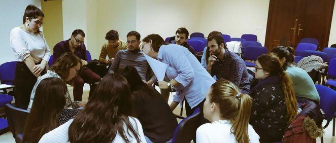 Reunión de los MIR (Foto: @ChuccComite)