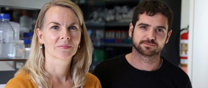Los investigadores del HUC Veronique Smits e Ignacio Alonso (Foto. Gobierno de Canarias)