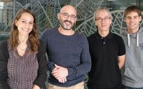 Grupo de investigadores del Idibaps, Ciberehd e ICFO (Foto. Hospital Universitari Clinic Barcelona)