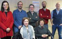 Grupo de trabajo de demencias de Manzanares (Foto. Sescam)