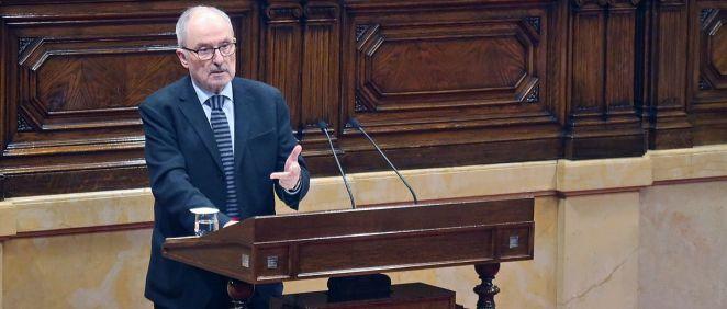 El Síndic de Greuges, Rafael Ribó (Foto: Parlamento de Cataluña)