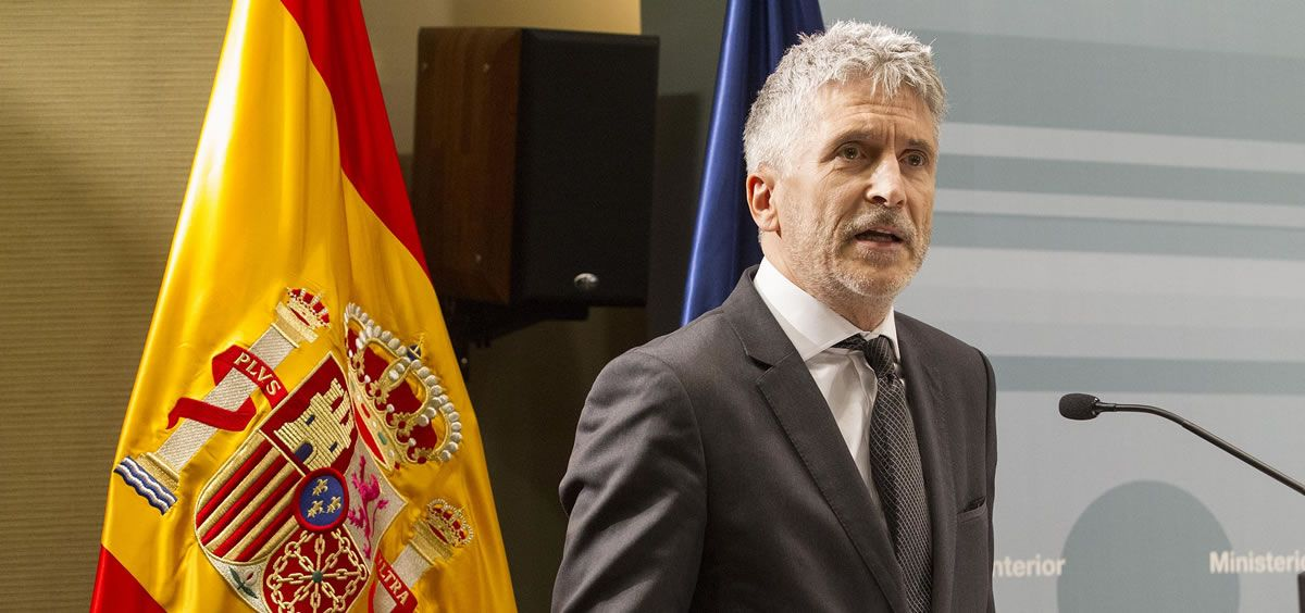 El ministro del Interior, Fernando Grande Marlaska. (Foto. Flickr Ministerio del Interior)