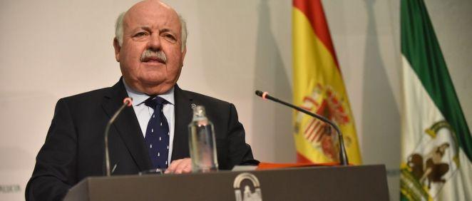 Jesús Aguirre, consejero de Salud y Familias de la Junta de Andalucía (Foto: Flickr Junta de Andalucía)