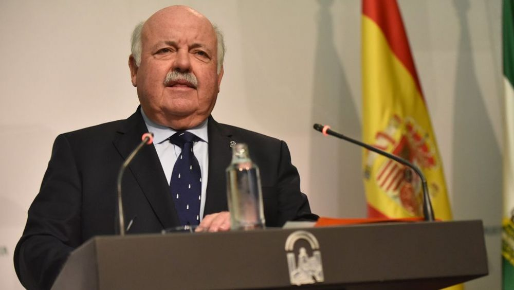 Jesús Aguirre, consejero de Salud y Familias de la Junta de Andalucía (Foto. Flickr Junta de Andalucía)