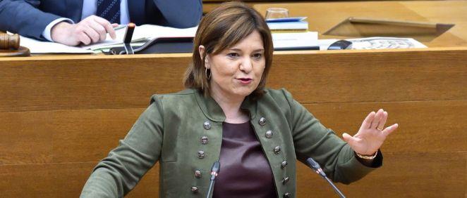 Isabel Bonig, portavoz del PP en las Cortes Valencianas (Foto: @ppcv)