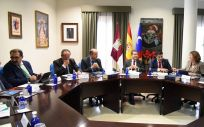 La Junta de Castilla La Mancha reunida en Consejo de Gobierno (Foto: José Ramón Márquez / JCCM)
