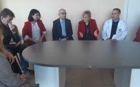 La consejera de Sanidad, Ana arceló, en su visito al centro de salud (Foto. Generalitat de Valencia)