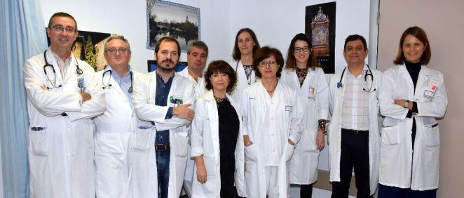 Equipo de Neurología del Hospital General Universitario Nuestra Señora del Prado de Talavera de la Reina (Foto. Castilla la Mancha)