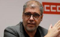 Unai Sordo, secretario general de CCOO. (Foto. Comisiones Obreras)