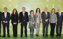 El Consejo General de Farmacéuticos entregó las Medallas del Consejo, que este año conmemoran su 60 aniversario, y los Premios Panorama, en su 32 edición. (Foto. Consejo General de Farmacéuticos)