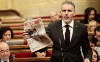 Jorge Soler, portavoz de Sanidad de Ciudadanos en Cataluña (Foto: Ciudadanos)