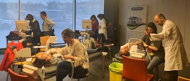 Las ecografías ofrecen información diagnóstica en tiempo real con el beneficio de que no reportan efectos negativos sobre los pacientes (Foto. Hospital Rey Juan Carlos)