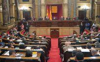 Pleno del Parlamento de Cataluña (Foto: Parlament)