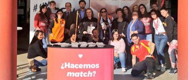 Integrantes de la campaña 'Un match x una vida' (Foto. Región de Murcia)