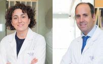 Los doctores Cristina Saura y Javier Cortés (Foto: Quirónsalud)