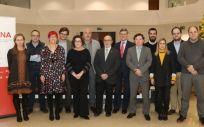 Foto de grupo de los asistentes a la II Jornada científica del Idisna (Foto. Gobierno de Navarra)