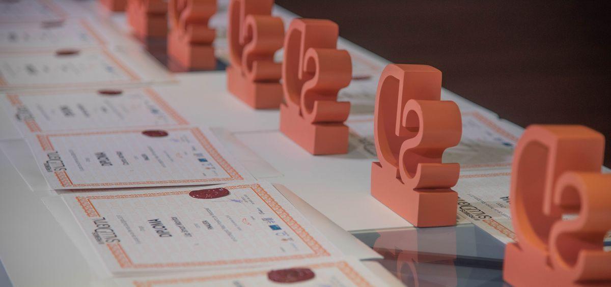 Una de las ediciones anteriores de los Premios SaluDigital (Foto: ConSalud.es)