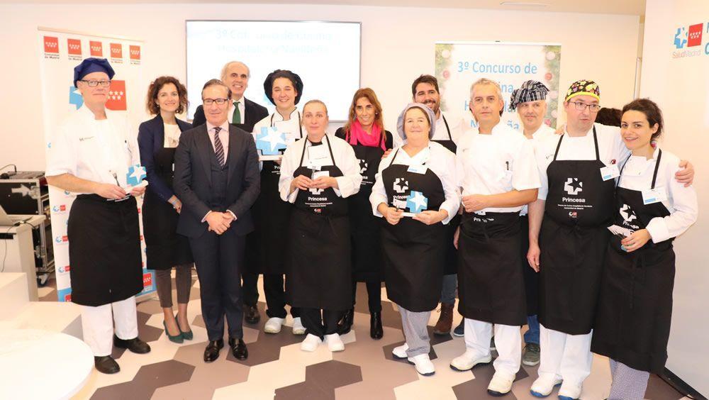 El Hospital del Tajo, ganador del concurso de cocina navideña