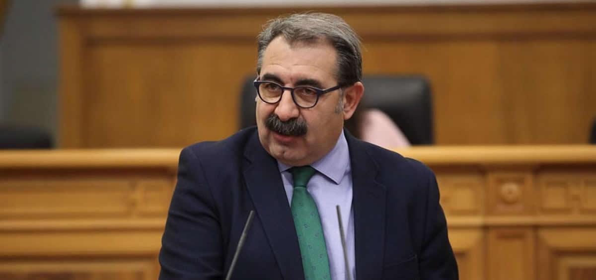 El consejero de Sanidad, Jesús Fernández Sanz, (Foto. Sescam)