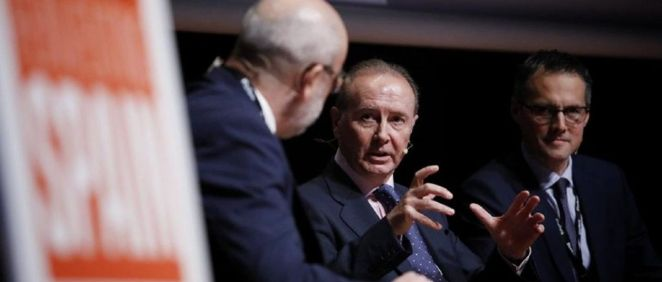 Martín Sellés, presidente de Farmaindustria, durante su intervención el Forbes Summit (Foto. Javier Carbajal)