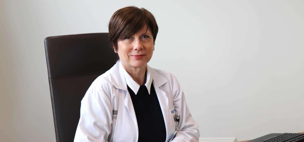 La doctora Eva Salvo, gerente del Hospital Universitario y Politécnico La Fe de Valencia (Foto: Departamento de Salud Valencia La Fe)