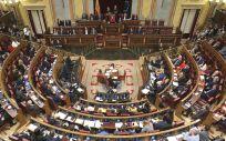 Pleno del Congreso de los Diputados tras su constitución a principios de diciembre (Foto: Congreso de los Diputados)