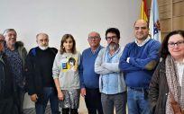 Foto de familia de la directiva de CESM Galicia. (Foto. CESM Galicia)