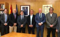 Presidentes de los colegios de Enfermería de Ceuta y Melilla y una delegación del Consejo General de Enfermería se reúnen con los máximos responsables del Ingesa. (Foto. CGE)