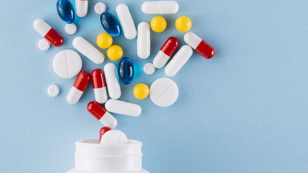 Frasco de medicamentos. (Foto. Freepik)