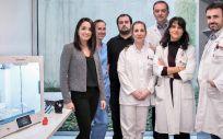 Sara Lizarbe, Saioa Solchaga, José Manuel Alves, Amelia Albarracín, Javier Sáenz, Natalia Álvarez de Eulate y Luis Miranda (Foto. Gobierno de Navarra)