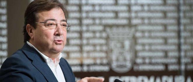 El presidente de la Junta de Extremadura, Guillermo Fernández Vara. (Foto. Junta Ex.)