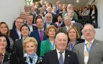 Foto de familia tras la asamblea del Consejo General de Enfermería. (Foto. CGE)
