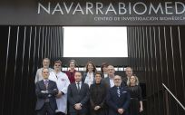 Visita de la presidenta Chivite a Navarrabiomed (Foto. Navarra)