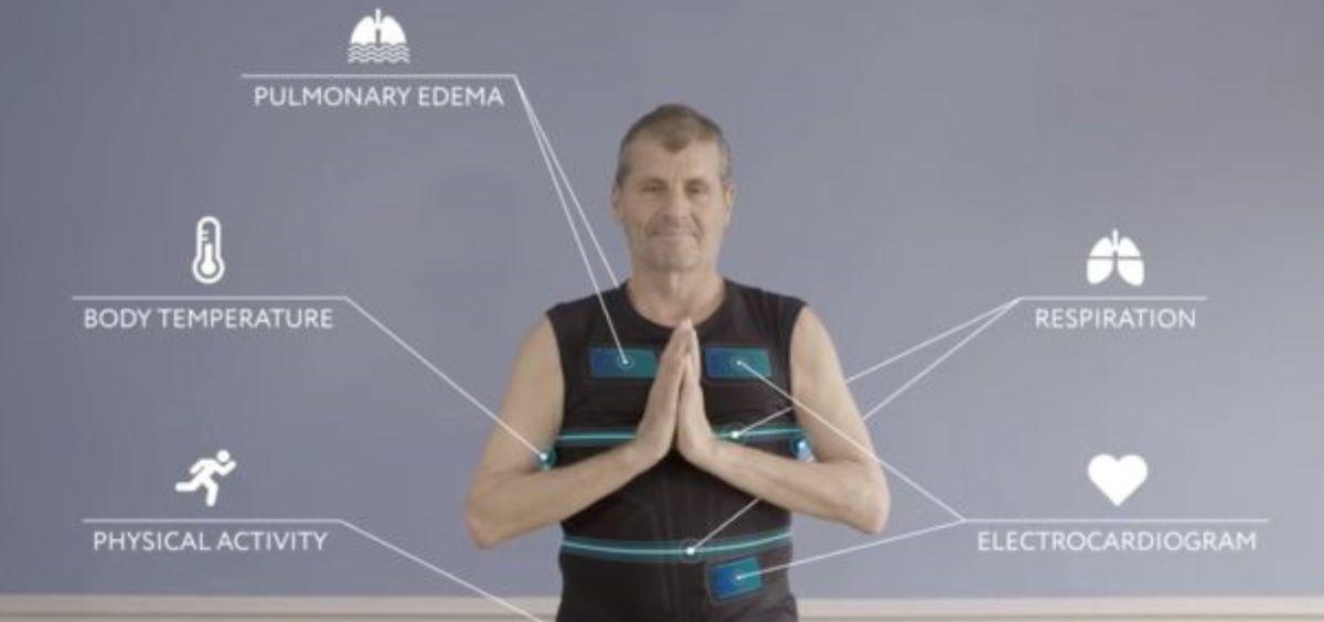 Diseñan una camiseta biométrica que monitoriza seis parámetros fisiológicos