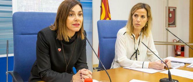 Paula Fernández, consejera de Presidencia, Interior, Justicia y Acción Exterior de Cantabria (Foto. Gobierno de Cantabria)