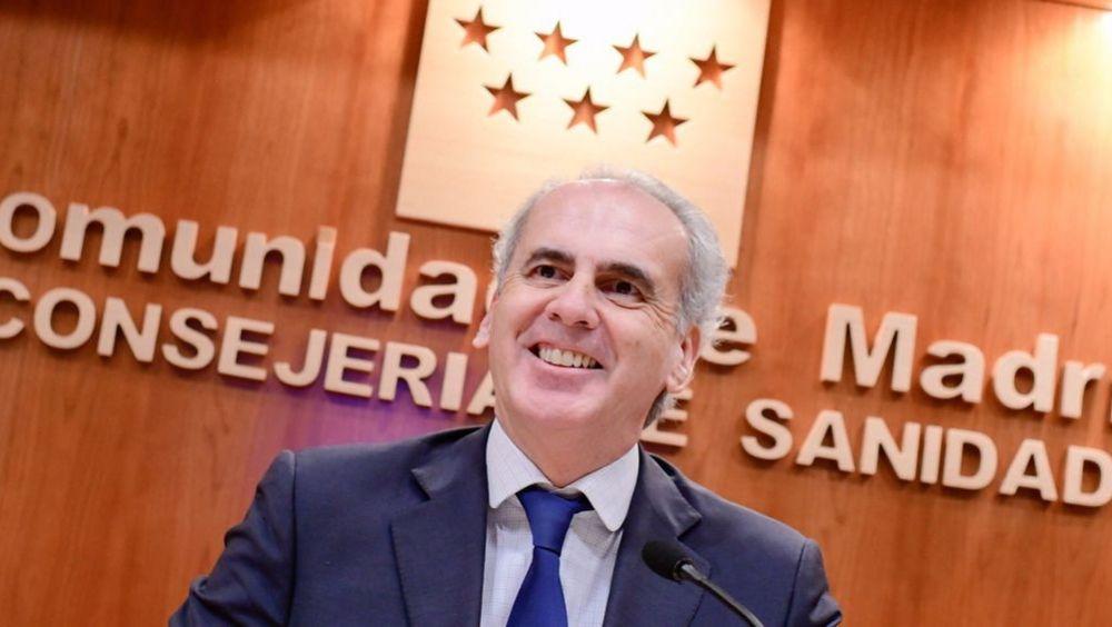 Enrique Ruiz Escudero, consejero de Sanidad de la Comunidad de Madrid (Foto: @eruizescudero)