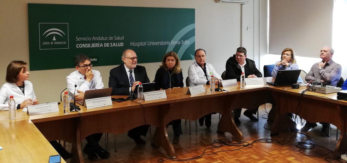 Presentación de los últimos datos del Plan de Alta Frecuenciación de la Junta de Andalucía. (Foto. ConSalud)