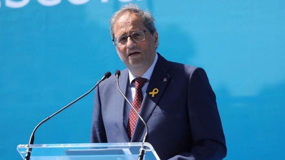 Quim Torra, presidente de la Generalitat de Cataluña (Foto: @QuimTorraiPla)