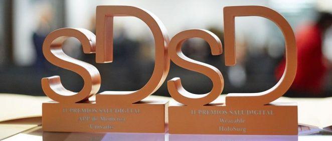 Una de las ediciones pretéritas de los Premios SaluDigital (Foto: ConSalud.es)