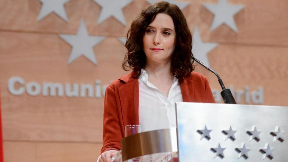 Isabel Díaz Ayuso, presidenta de la Comunidad de Madrid (Foto: Comunidad de Madrid)