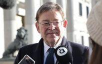 El presidente de la Generalitat Valenciana, Ximo Puig. (Foto. GVA)