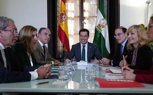 Moreno da un toque de atención a Aguirre ante la falta de diálogo y negociación con los sindicatos